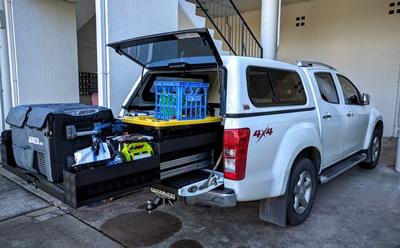 Isuzu DMax Ezi Reach sliding ute tray 400kg