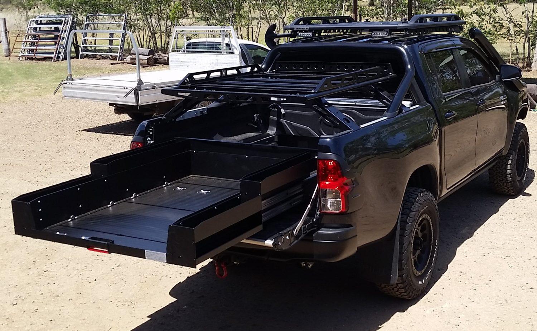 Toyota-Hilux-sliding-cargo-tray