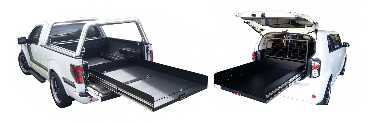 custom sliding cargo tray