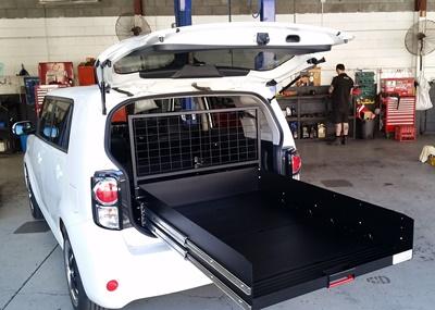 Ezi reach custom cargo trays. Toyota rukus