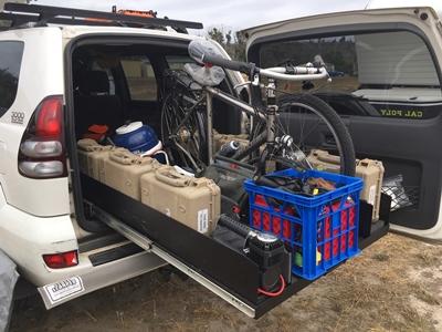 Ezi reach custom sliding cargo tray Toyota Prado