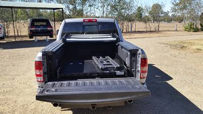 Ezi-reach-sliding-cargo-tray-Dodge-Ram-laramie