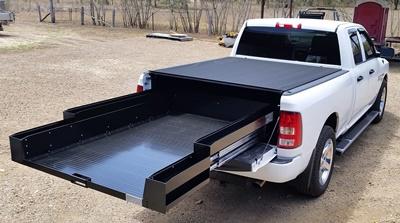 Dodge-Ram-express-ezi-reach-sliding-cargo-tray
