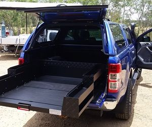 Ranger ute slide tray 1